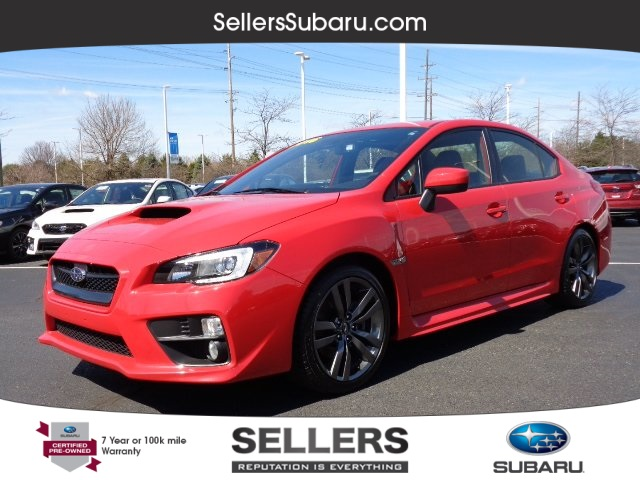 Certified Pre Owned 2016 Subaru Wrx Limited