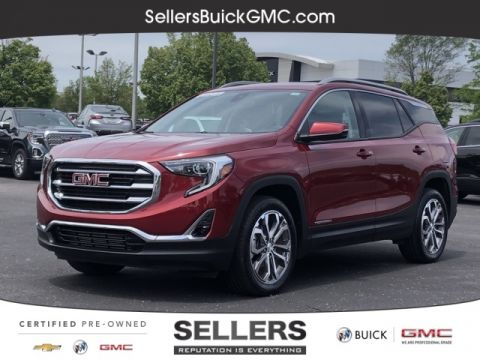 Certified Pre-Owned 2018 GMC Terrain SLT